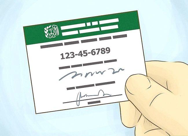 Prent getitel Vind `n federale belasting ID nommer Stap 5