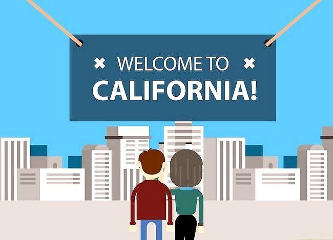 Prent getiteld Aansoek om `n huwelikslisensie in Kalifornië Stap 3