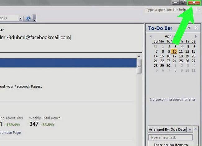 Beeld getiteld Fix Error 0x800c0133 in Outlook Stap 6