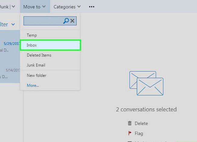 Beeld getiteld Fix Error 0x800c0133 in Outlook Stap 9