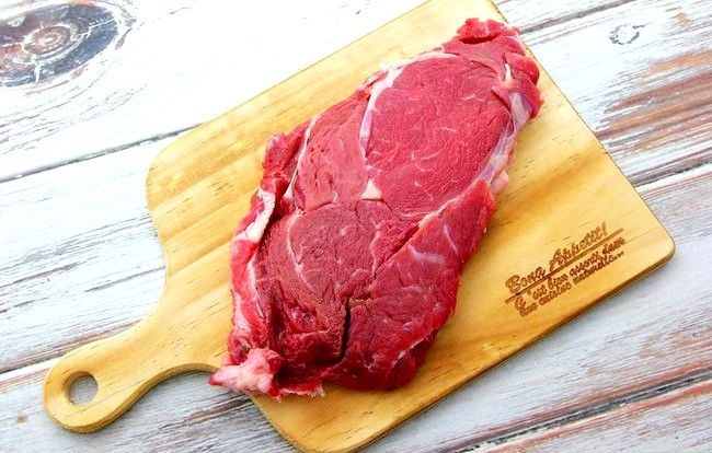 Prent getiteld Tender Steak Stap 1