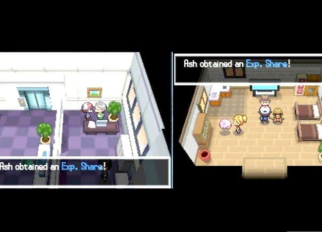 Prent getiteld Vlak Pokemon in Pokemon Swart en Wit Stap 3