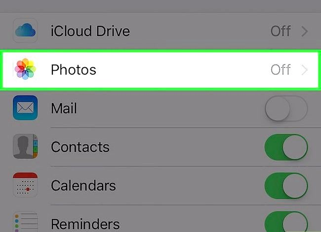 Prent getiteld Laai nuwe iPhone foto`s op na iCloud. Stap 4 outomaties