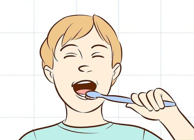 Prent getiteld Het goeie higiëne (seuns) Stap 3