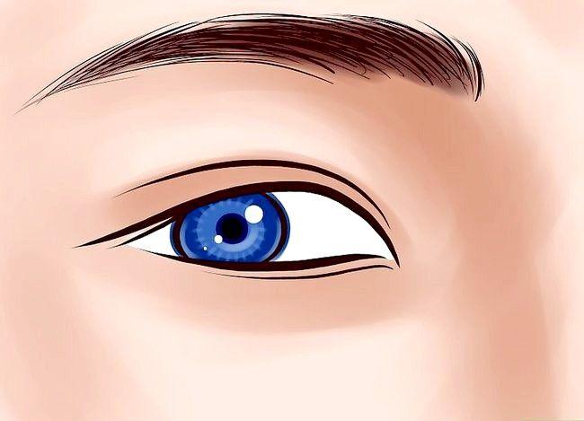 Prent getiteld Kry Anime Eyes Stap 9