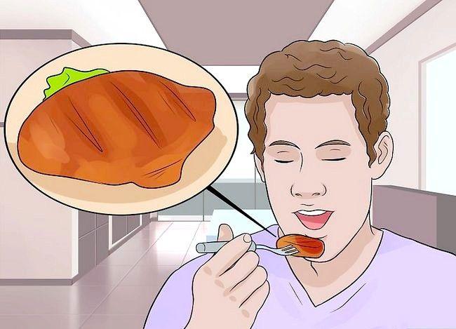 Prent getiteld `n Gesonde Voedingsgebalanseerde Dieet Stap 7