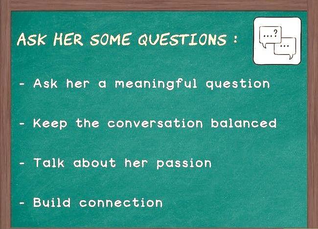 Prent getiteld Hou die gesprek vloei met `n meisie (vir ouens) Stap 2
