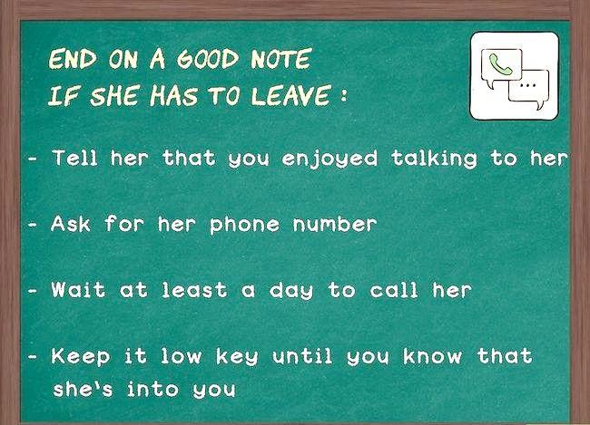 Prent getiteld Hou die gesprek vloei met `n meisie (vir ouens) Stap 8