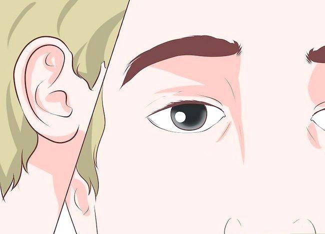Prent getiteld Hou `n aangename gesigsuitdrukking Stap 3