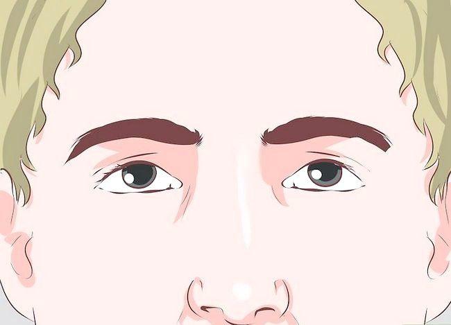 Prent getiteld Hou `n aangename gesigsuitdrukking Stap 7