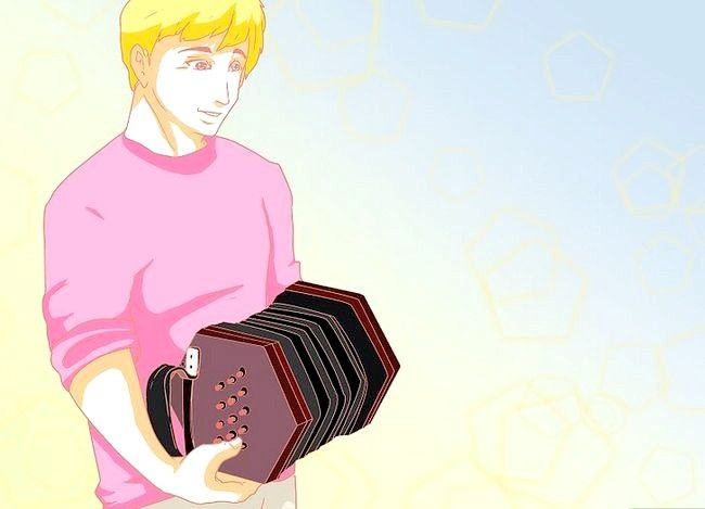 Prent getiteld Speel die Concertina Stap 2