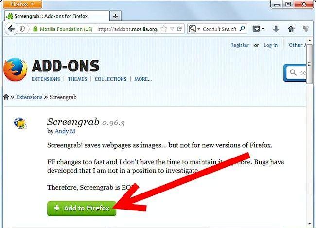 Prent titel Get Screenshots Gebruik die Firefox Screengrab Plugin Stap 2