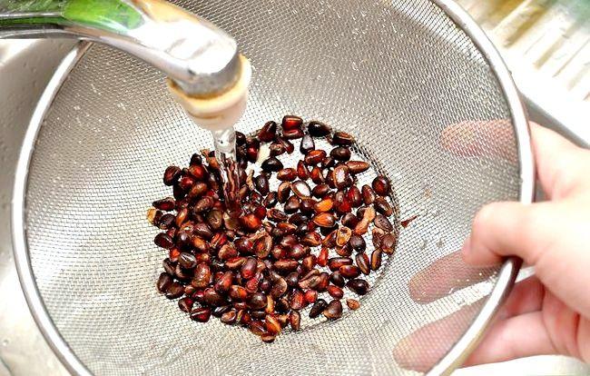 Prent getiteld Roast Pine Nuts Stap 5