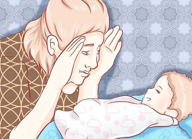 Prent getiteld Kalm `n Crying Baby Stap 13