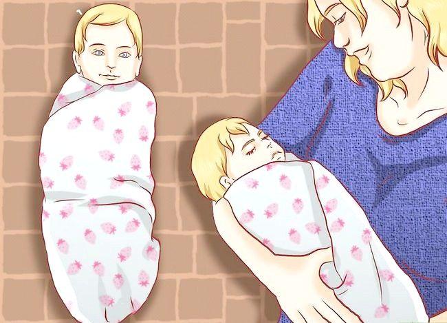 Prent getiteld Kalm `n Crying Baby Stap 8