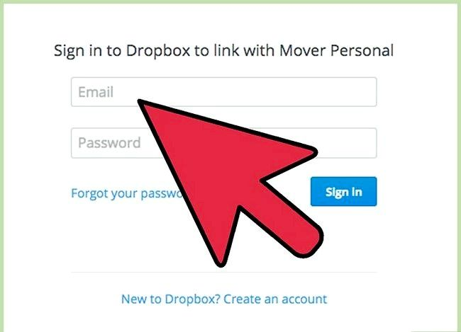 Prent getiteld Oordrag lêers tussen FTP en Dropbox met behulp van Backup Box Stap 4