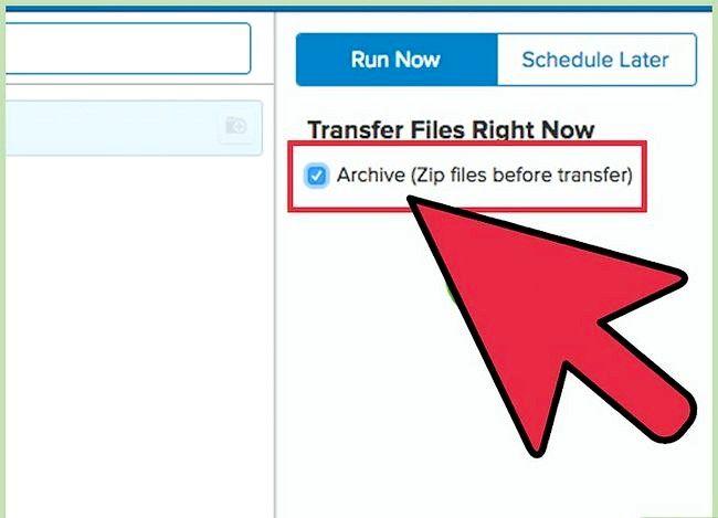 Prent getiteld Oordraglêers tussen FTP en Google Drive met Backup Box Stap 7