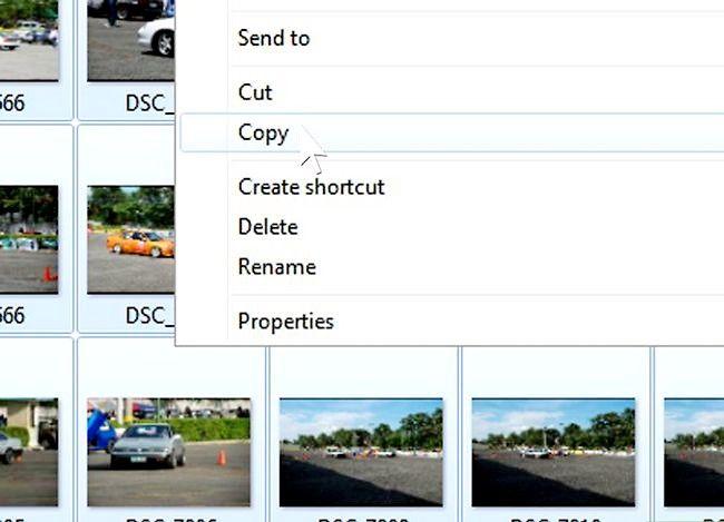 Prent getiteld Oordrag van beelde van `n digitale kamera na `n rekenaar Stap 6