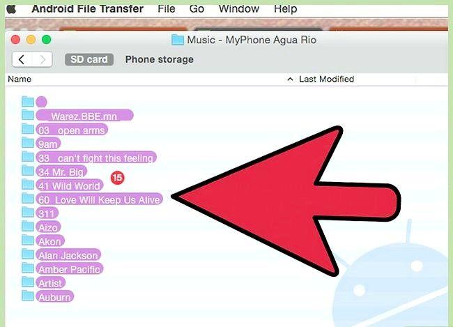 Prent getiteld Oordrag iTunes na die LG G2 Stap 18