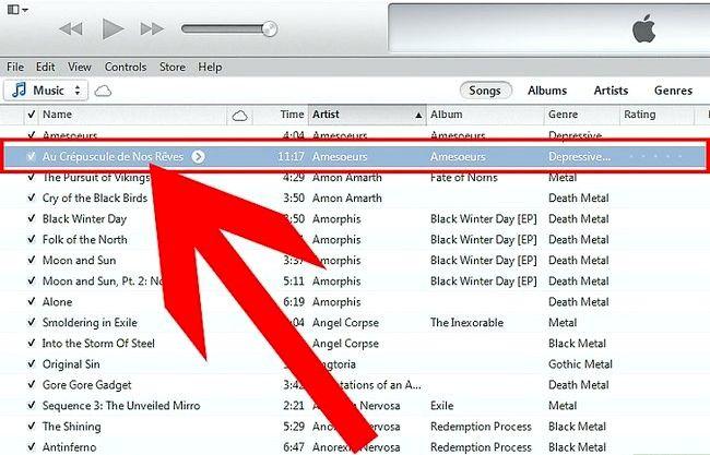 Prent getiteld Oordragmusiek van iTunes na Android Stap 2