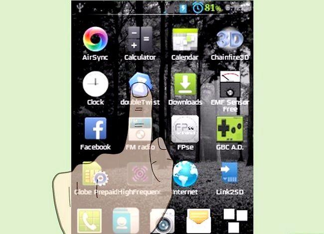 Prent getiteld Oordragmusiek van iTunes na Android Stap 29