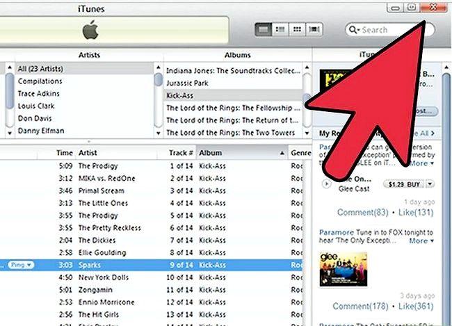 Beeld getiteld Oordrag iTunes na `n eksterne hardeskyf Stap 1