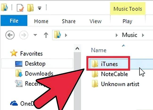 Beeld getiteld Oordrag iTunes na `n eksterne hardeskyf Stap 4