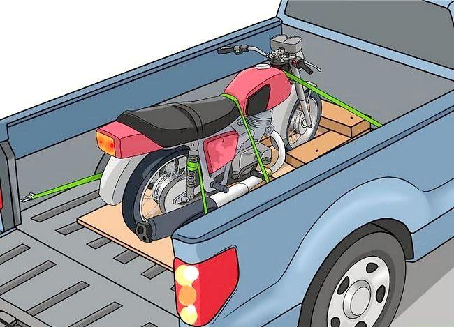 Prent getiteld Haal `n motorfiets Stap 9