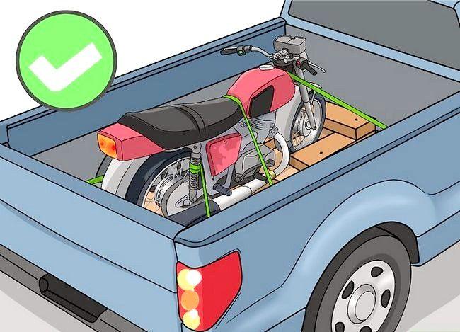Prent getiteld Haal `n motorfiets stap 11