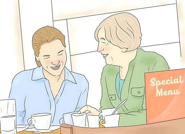 Prent getiteld Behandel jou moeder op haar verjaarsdag Stap 14