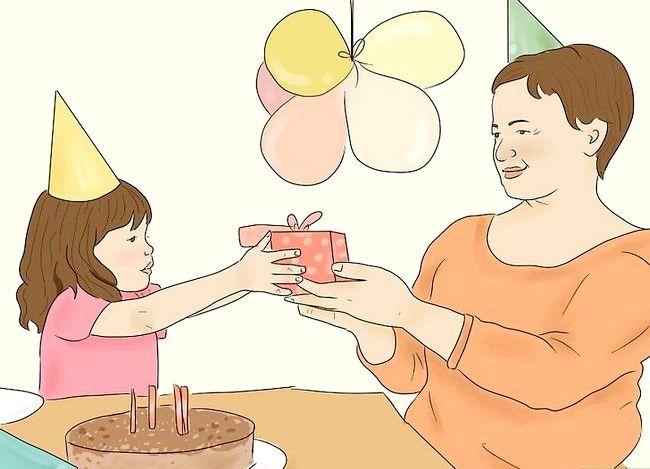 Prent getiteld Behandel jou moeder op haar verjaarsdag Stap 15