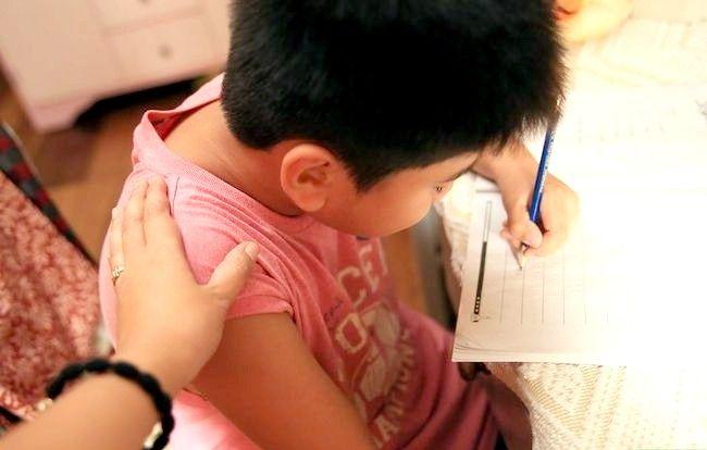 Prent getiteld Leer jou kind wiskunde Stap 1