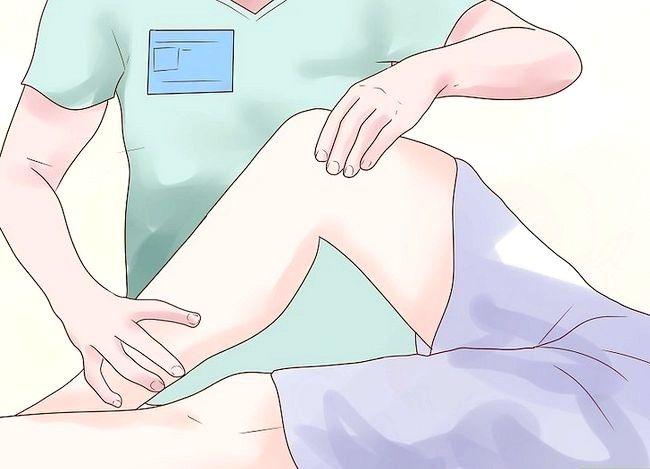 Prent getiteld Behandel artritis in die knie Stap 7