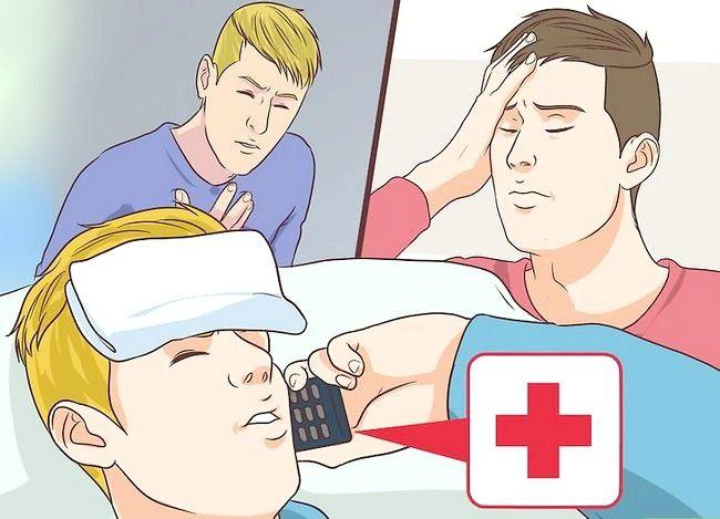 Prent getiteld Behandel `n nadelige reaksie op `n griepvaccin Stap 2
