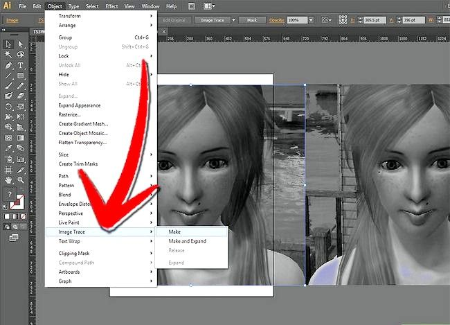 Prent getiteld Gebruik Adobe Illustrator Stap 11