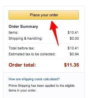 Prent getiteld Gebruik Amazon Locker Stap 7