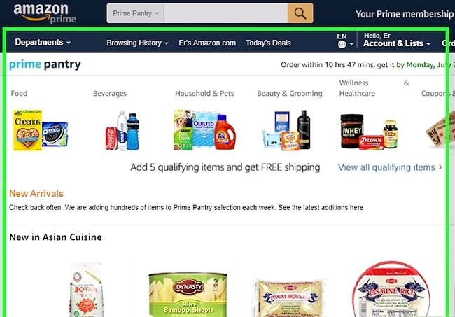 Prent getiteld Gebruik Amazon Prime Step 11