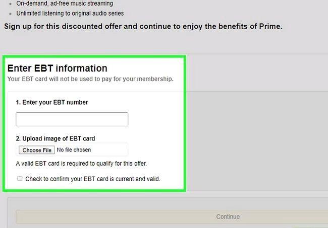 Prent getiteld Gebruik Amazon Prime Step 5