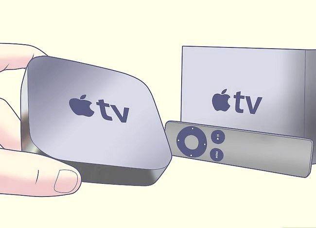 Hoe om Apple TV te gebruik