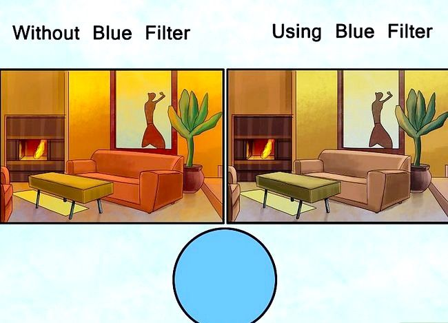 Prent getiteld Gebruik filters in Fotografie Stap 10