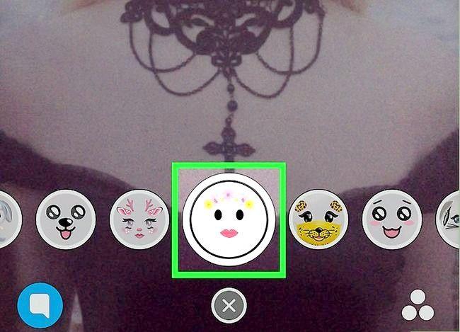 Prent Titel Gebruik Filters op Snapchat Stap 16