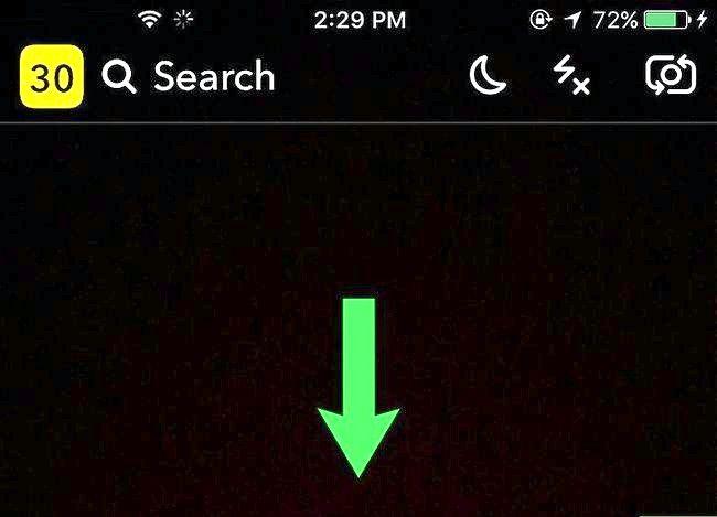 Prent Titel Gebruik Filters op Snapchat Stap 2