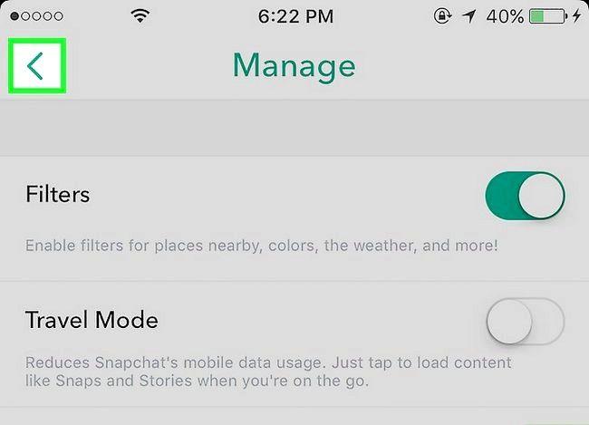 Prent Titel Gebruik Filters op Snapchat Stap 6