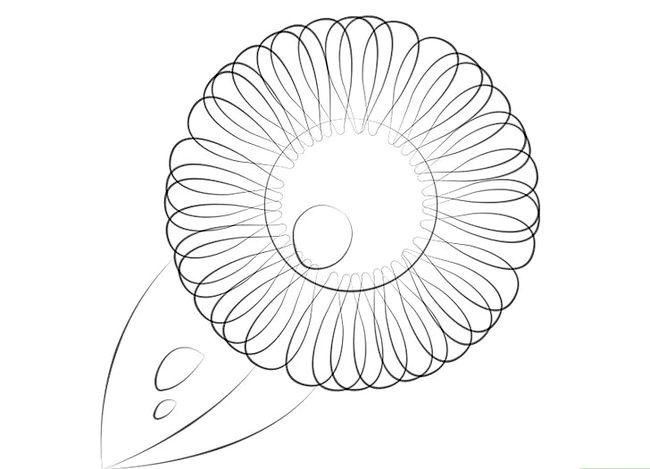 Prent getiteld Gebruik gradiënte in Adobe Illustrator Stap 1
