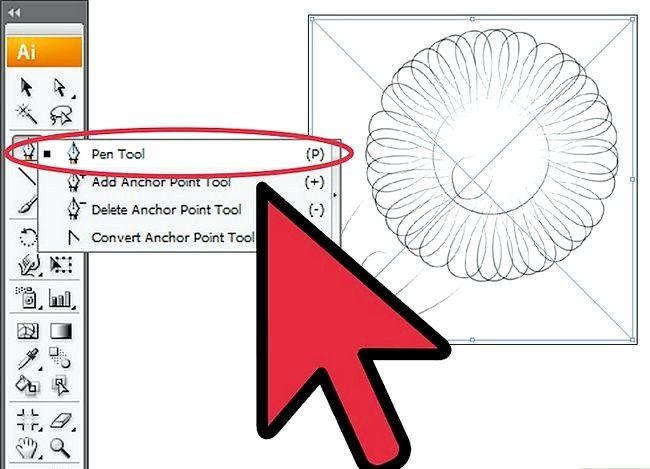 Prent getiteld Gebruik gradiënte in Adobe Illustrator Step 2