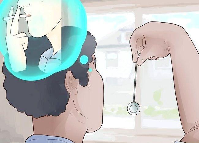 Prent getiteld Gebruik self hipnose om op te hou rook Stap 13