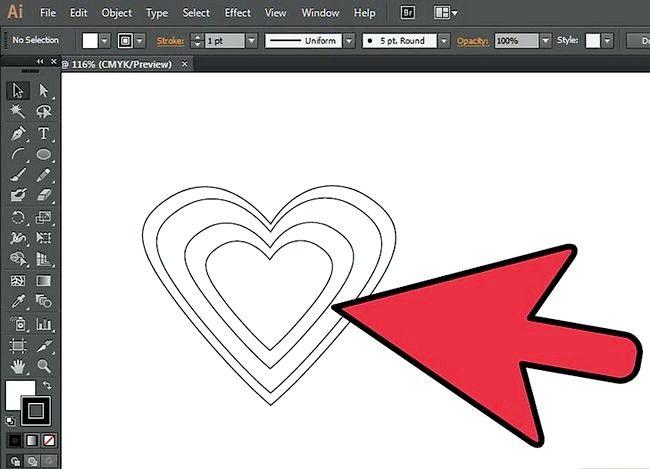 Prent getiteld Gebruik die Brush Tool in Adobe Illustrator Step 2