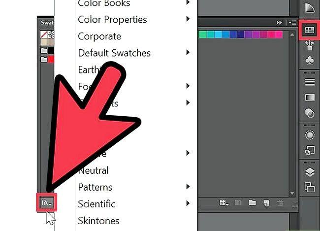 Prent getiteld Gebruik Adobe Illustrator Swatches Stap 3
