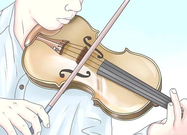 Hoe om die pragtige tegnieke van `n viool te gebruik