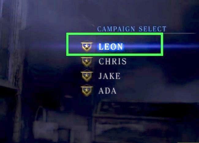 Prent getiteld Gebruik vaardigheidspunte in Resident Evil 6 Stap 16